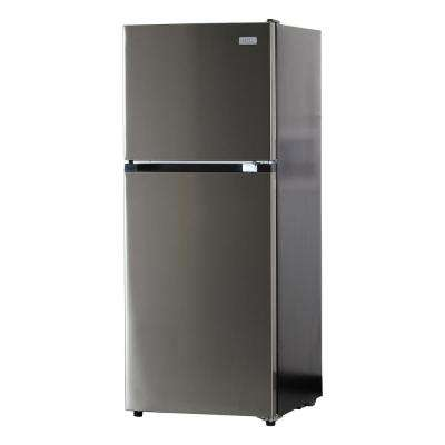 10.5 cu. ft. Top Freezer Refrigerator in Stainless