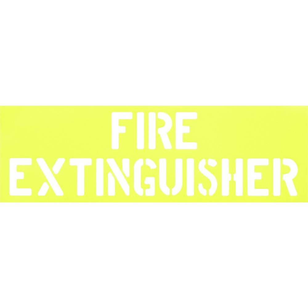 The Hillman Group Fire Extinguisher Stencil