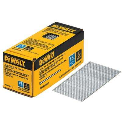 2 in. x 15-Gauge Angled Glue Collated Finish Nails (1,000 per Box)