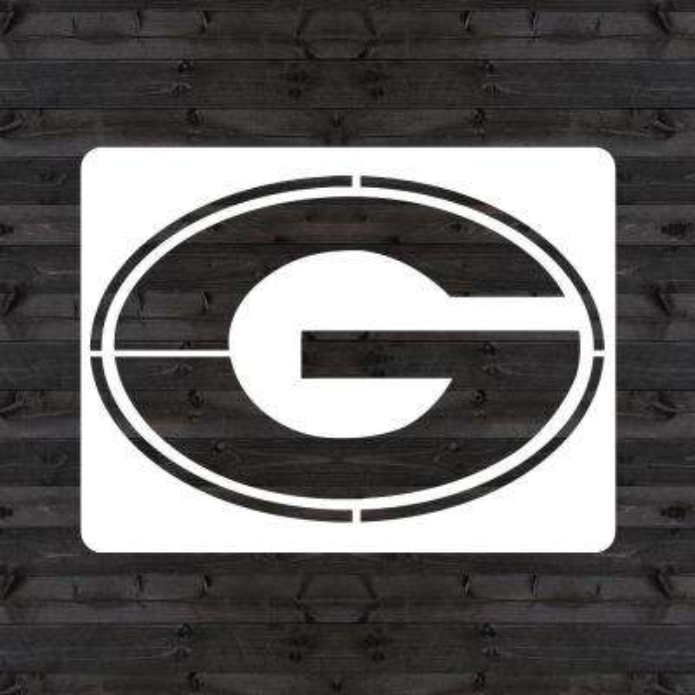 "Georgia ""G"" Mini Stencil"