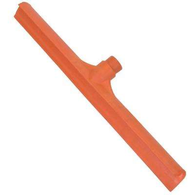 19.75 in. Rubber Squeegee in Orange (Case of 6)