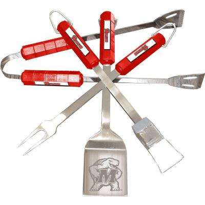 NCAA Maryland Terrapins 4-Piece Grill Tool Set