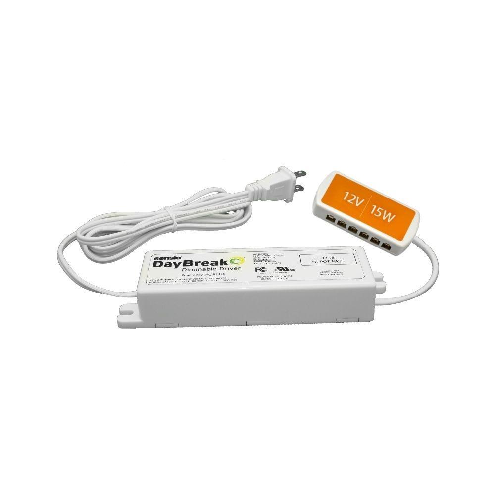 Superbe DayBreak 12 Volt 15 Watt LED Dimmable Driver