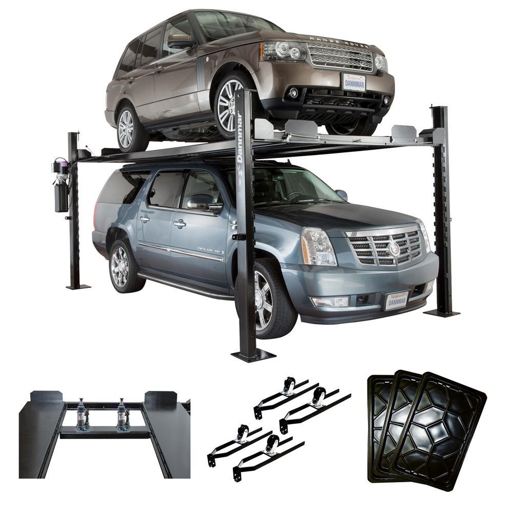 Dannmar D 7 Kit 7000 Lb 4 Post Car Lift With Accessory Kit 1375640