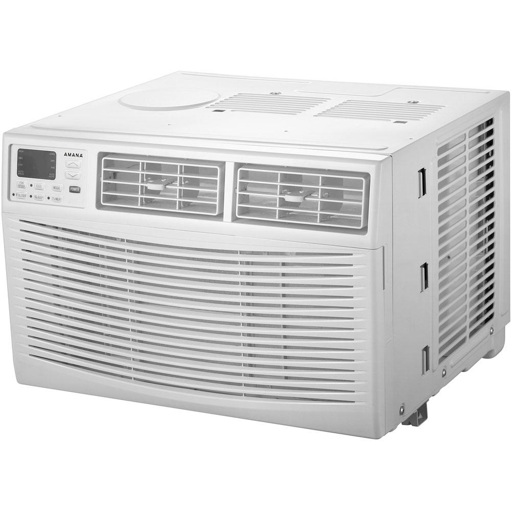 8,000 BTU Window Air Conditioner with Dehumidifier and Remote