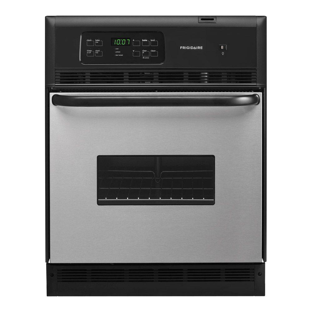 Frigidaire 24 in. Single Electric Wall Oven Self-Cleaning in Stainless Steel