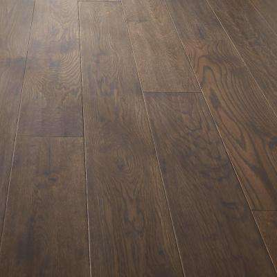 Castillian Oak Cordovan Hand Sculpted 1/2 in. x 7 in. x Random Length Engineered Hardwood Flooring (17.53 sq. ft. /case)