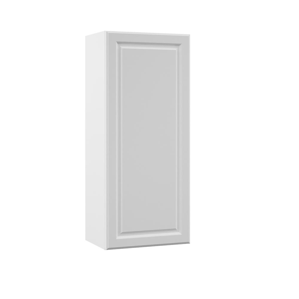 Elgin Assembled 18x42x12 in. Wall Kitchen Cabinet in White