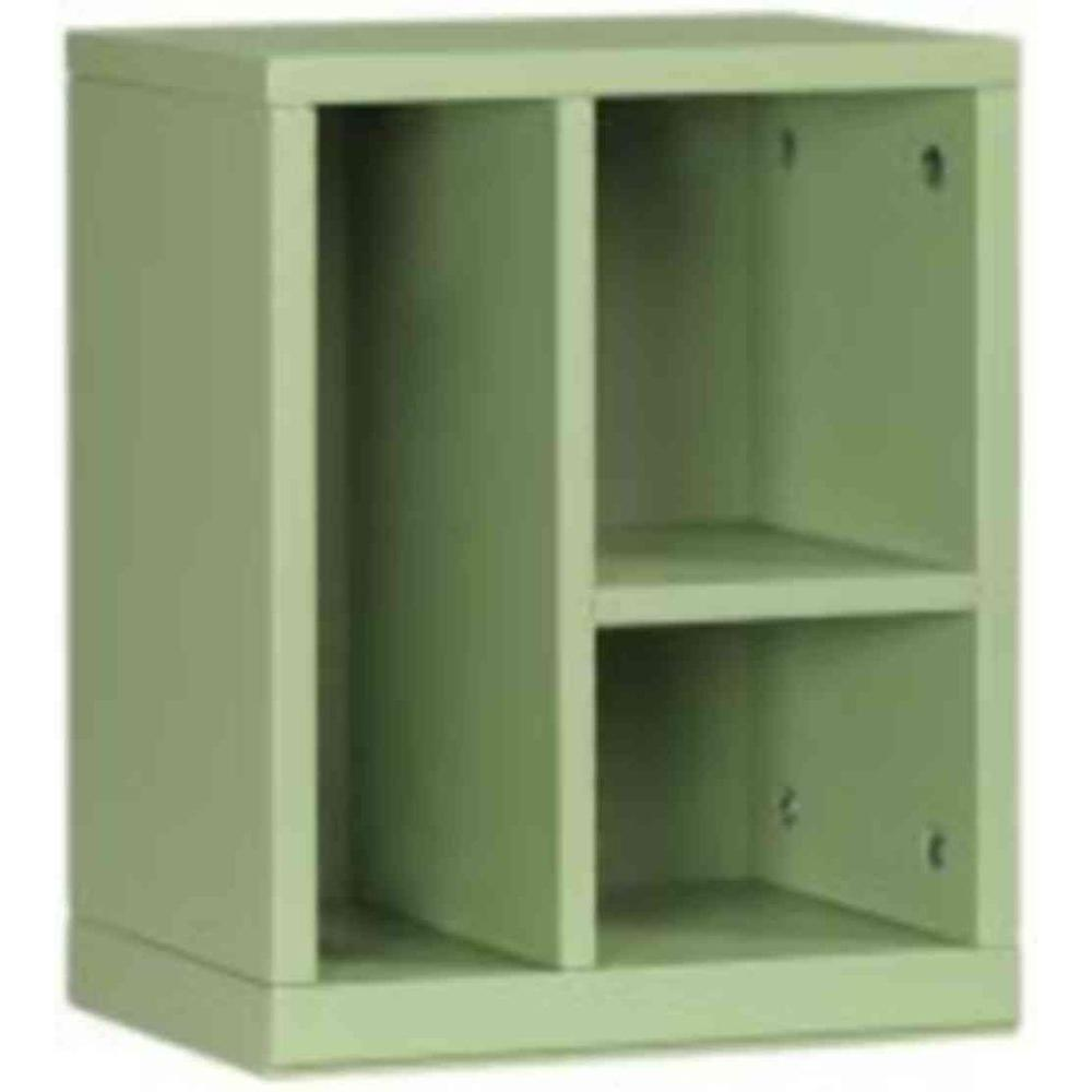 Craft Space 3-Cubby Organizer in Rhododendron Leaf