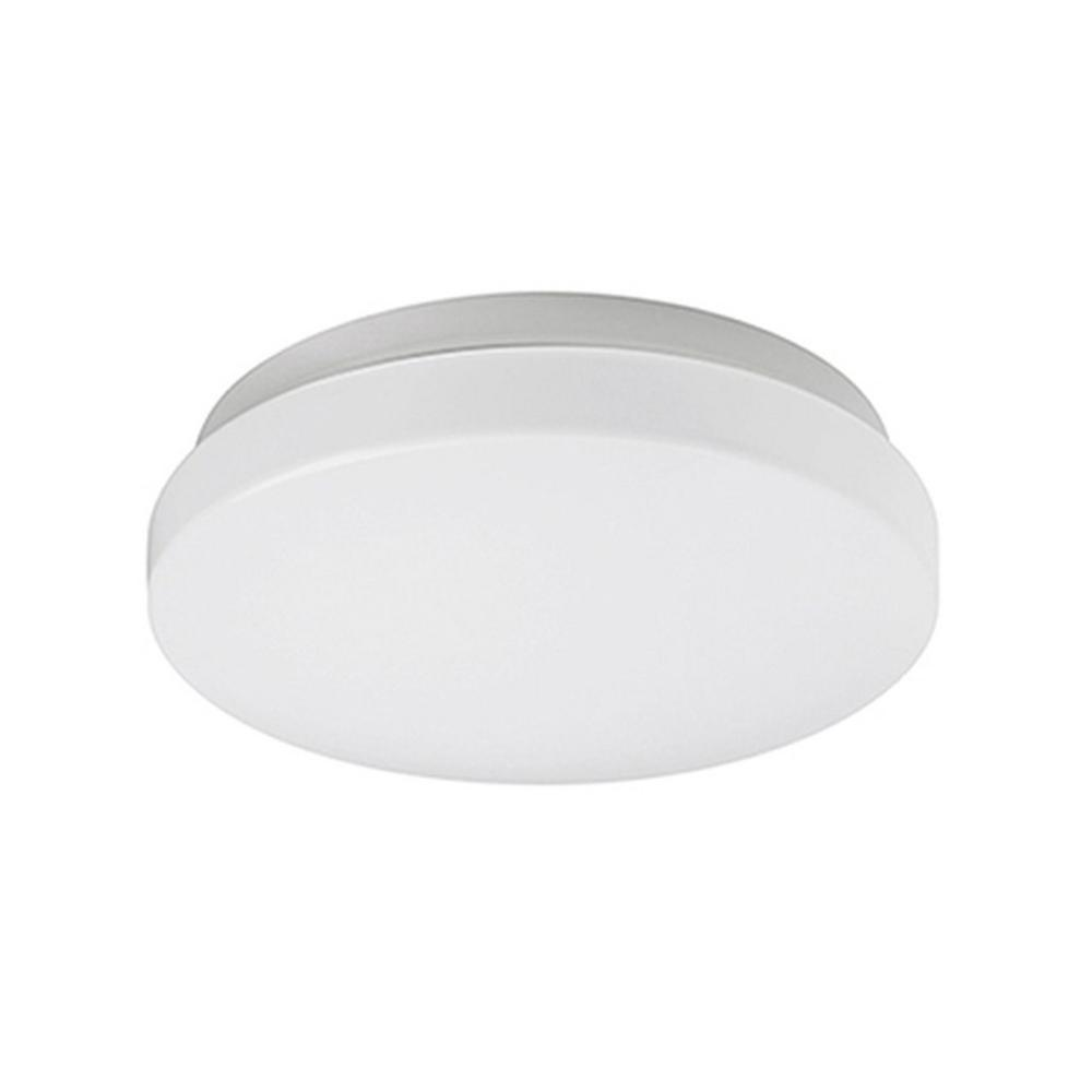 Radionic Hi Tech Nevaeh Silver 40-Watt Equivalence Integrated LED Ceiling Flush Mount