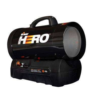 60,000 BTU Forced Air Propane Hero Heater