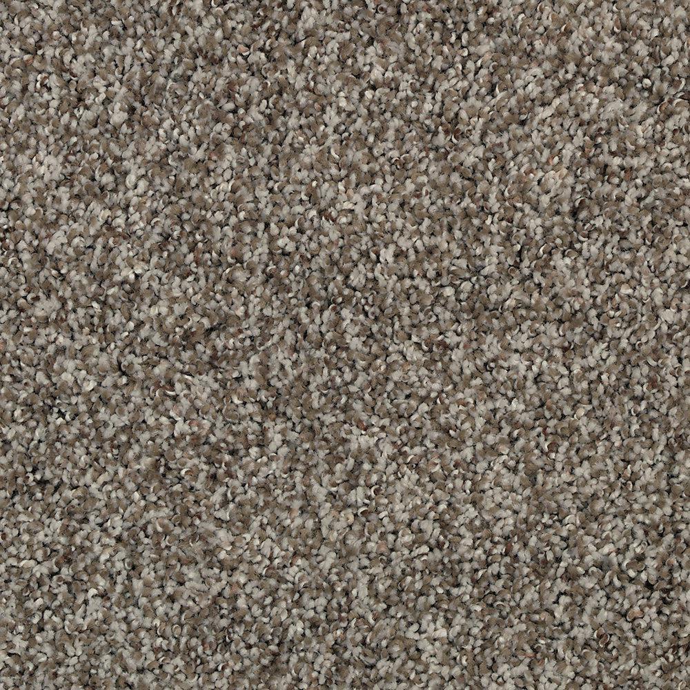 Carpet Sample - Barx I - Color White Wash Textured 8 in. x 8 in.