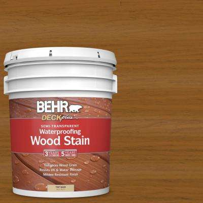 5 gal. #ST-134 Curry Semi-Transparent Waterproofing Exterior Wood Stain