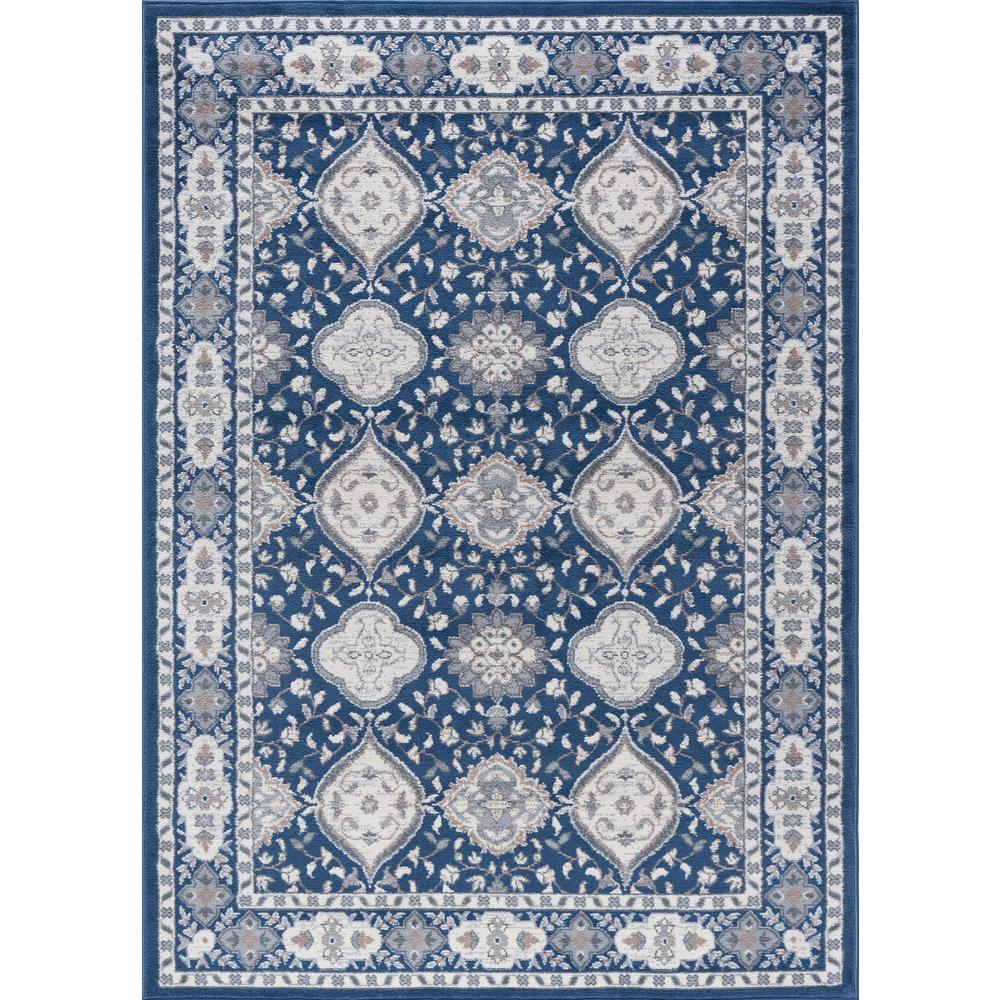 Tayse Rugs Madison Navy 5 Ft. X 7 Ft. Area Rug-MDN3007 5x7