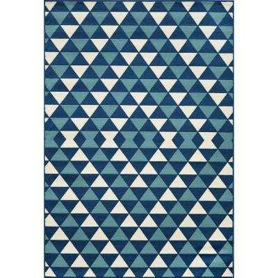 Rectangle - 6 X 9 - Blue - Outdoor Rugs - Rugs - The Home Depot