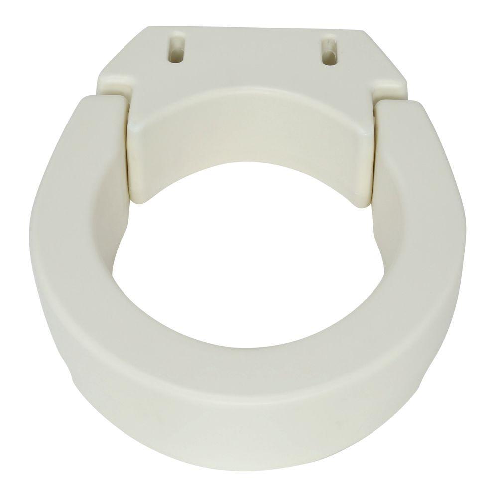 Wondrous Carex Health Brands Hinged Toilet Seat Riser Standard Short Links Chair Design For Home Short Linksinfo