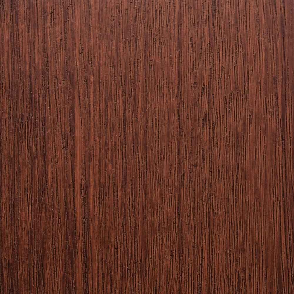 Clopay 3 in. x 6 in. Garage Door Composite Material Sample in Mahogany Species with Dark Finish