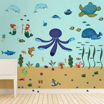 Turquoises / Aquas - Wall Decals - Wall Decor - The Home Depot