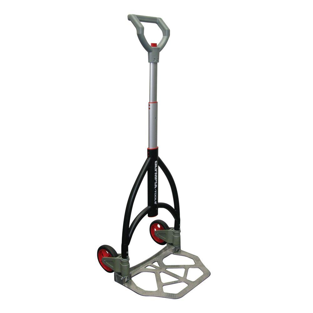 OLYMPIA 155 lb. Pack-n-Roll Express Telescoping Hand Truck