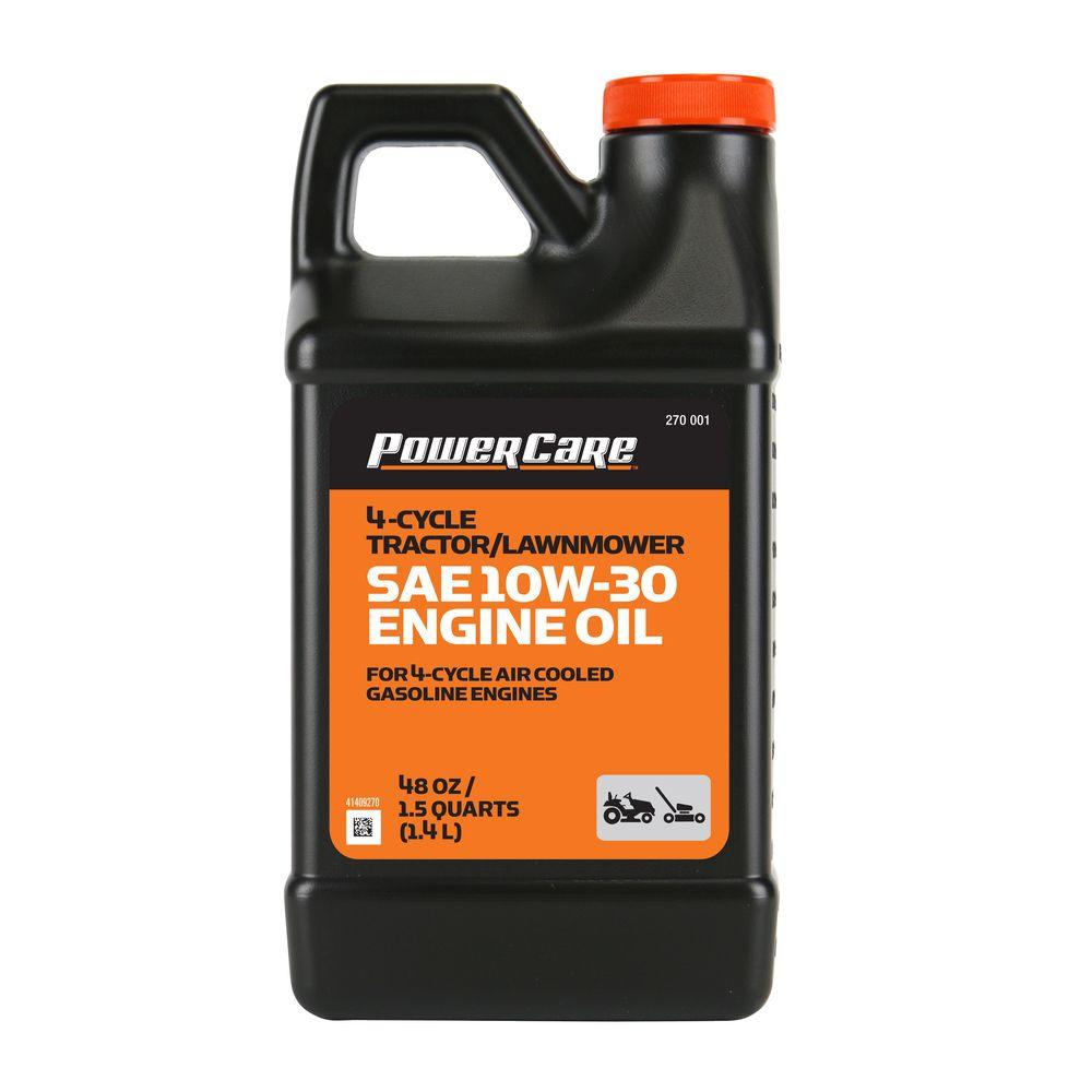 Care Sae 10w 30 48 Oz Lawnmower Oil