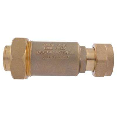 1 in. x 3/4 in. FIP BF-1 Series Dual Check Backflow Preventer