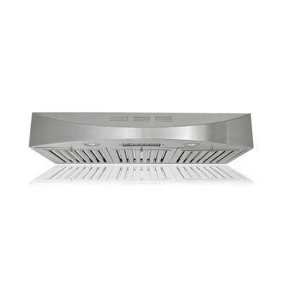36 in. 400 CFM Ductless Under Cabinet Range Hood in Stainless Steel