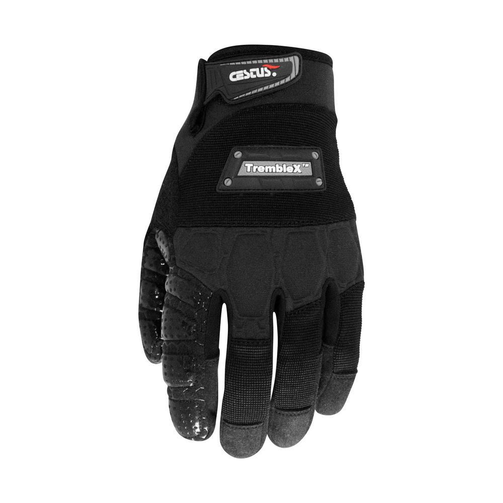 Medium Black TrembleX Gloves (1-Pack)