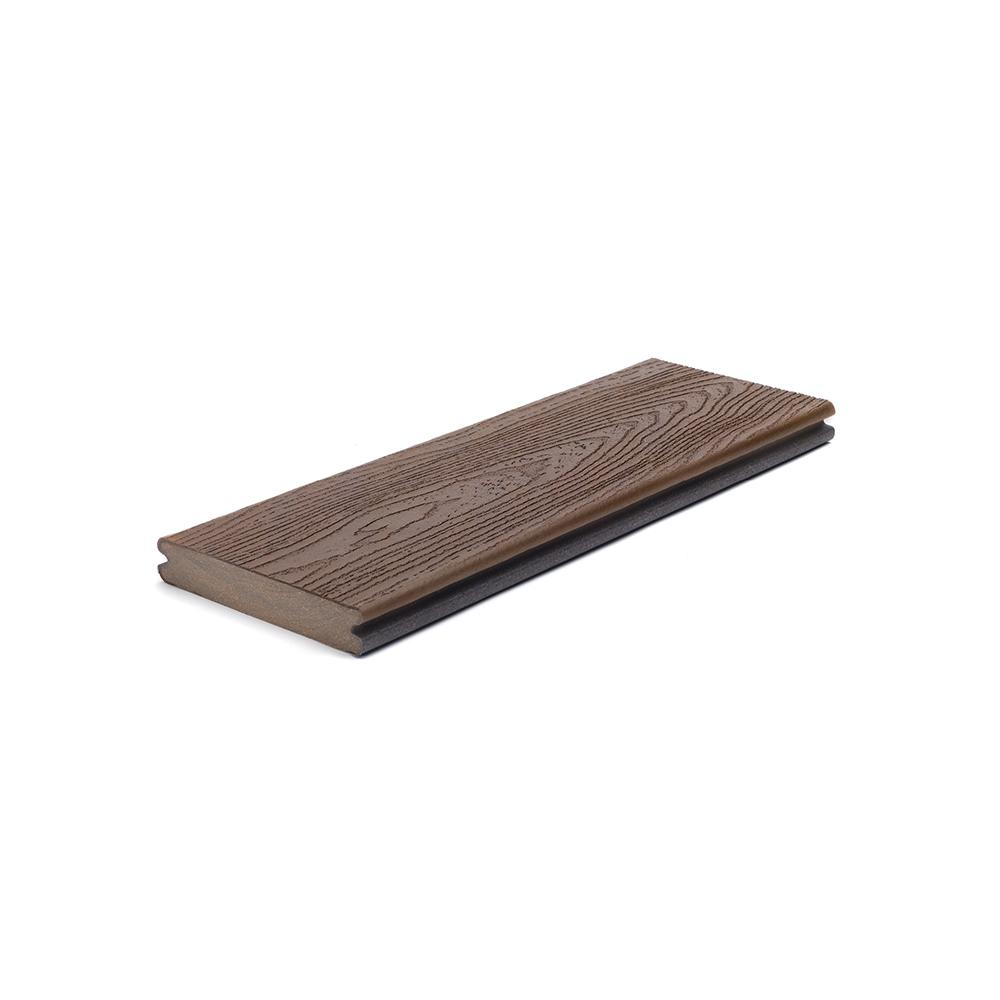 Transcend 1 in. x 5.5 in. x 1 ft. Vintage Lantern Composite Decking Board Sample