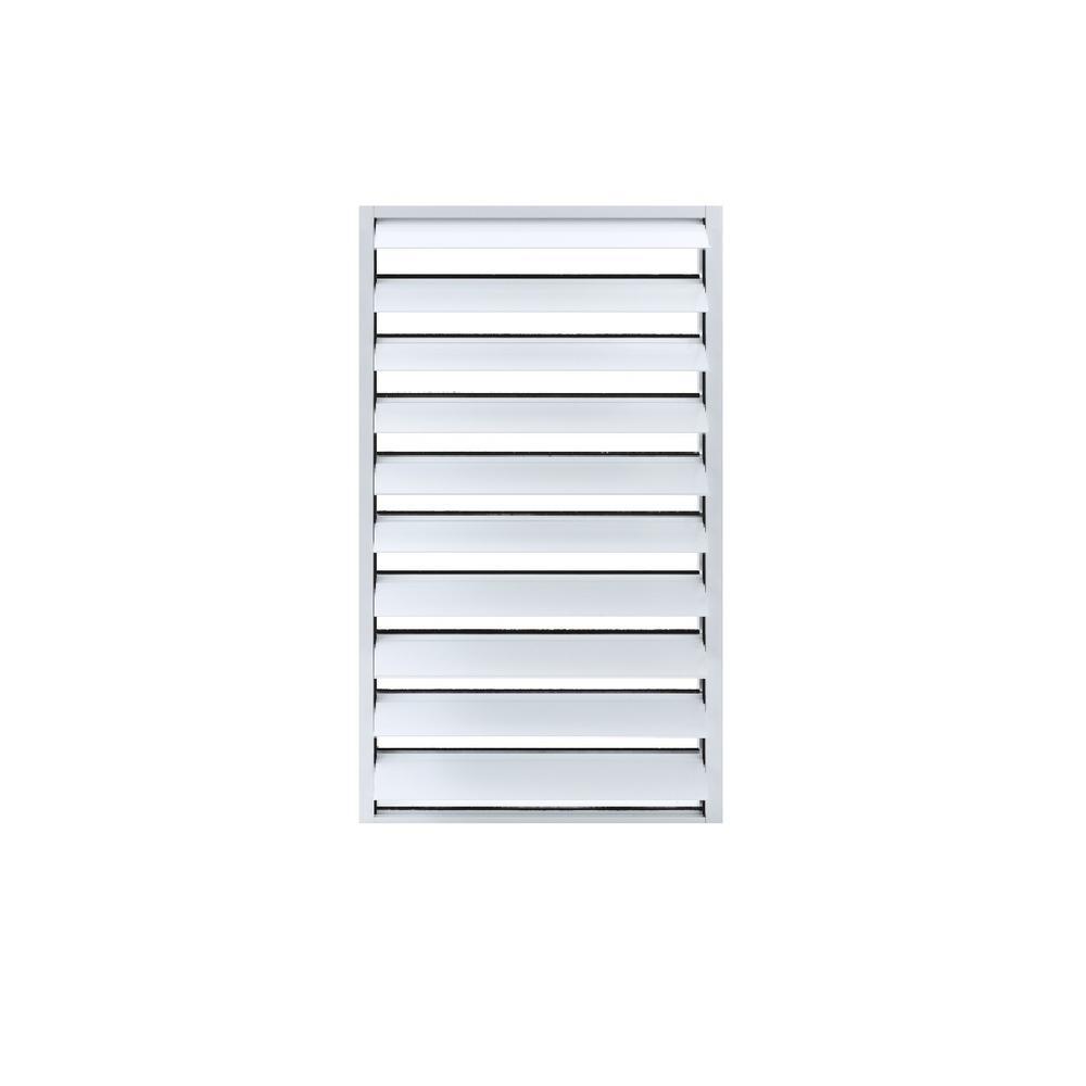 Storm Guard 4 In Security Jalousie Aluminum Window