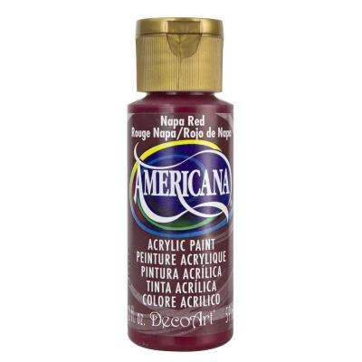 Americana 2 oz. Napa Red Acrylic Paint
