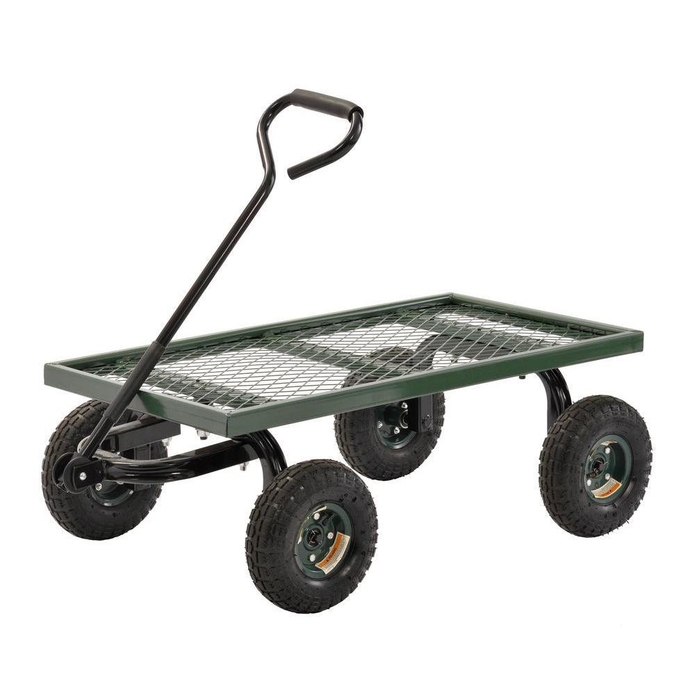 3 cu. ft. 20 in. W Utility Cart