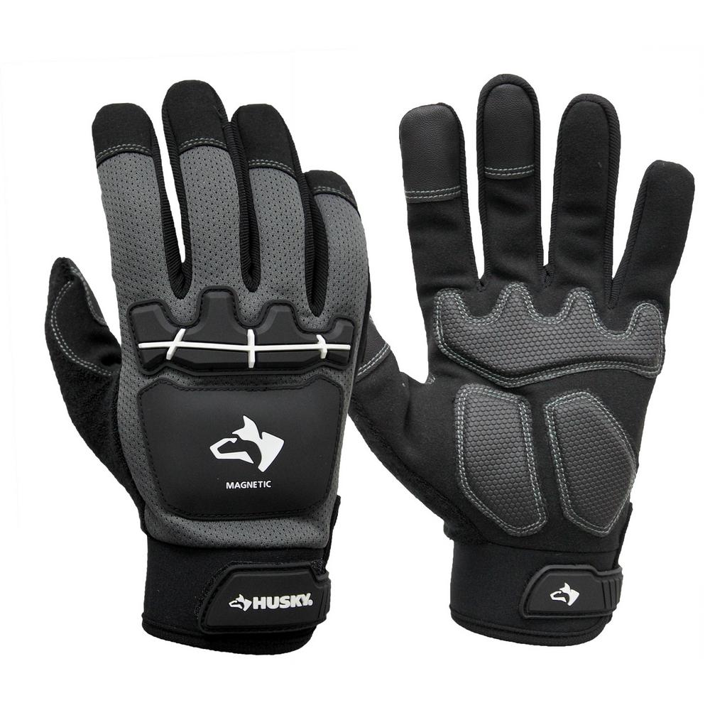 Medium Heavy Duty Impact Magnetic Mechanics Glove,