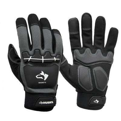 Medium Heavy Duty Impact Magnetic Mechanics Glove