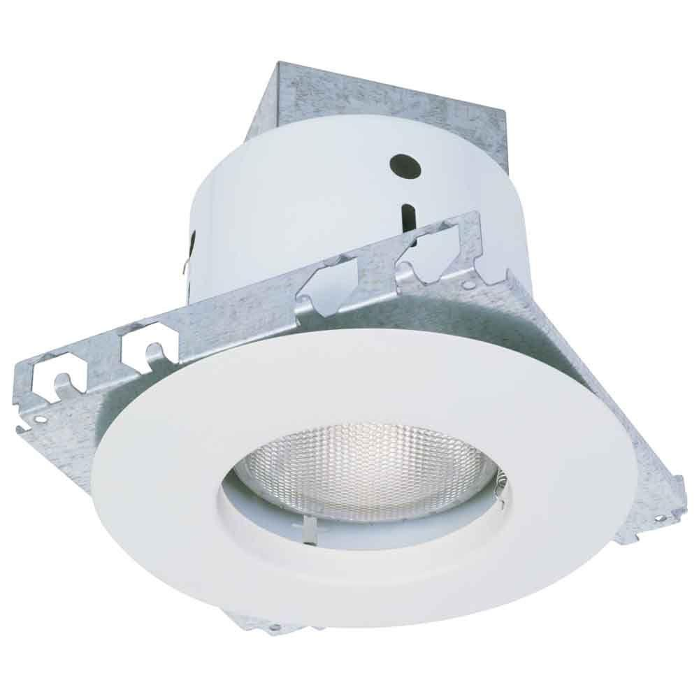 5 in. White Recessed Lighting Kit