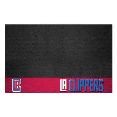 NBA Los Angeles Clippers 26 in. x 42 in. Grill Mat