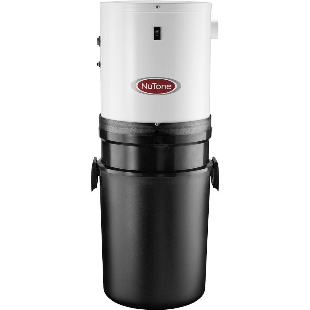 nutone central vacuum system 1 stage compact power unit cv400 the home depot. Black Bedroom Furniture Sets. Home Design Ideas