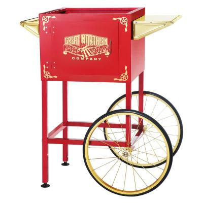 Red Replacement Cart for Larger up to 8 oz. Roosevelt Style Popcorn Machines