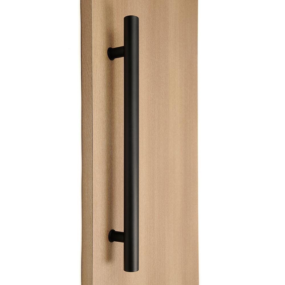 STRONGAR Ladder Style 48 In. X 1 In. Back To Back Black