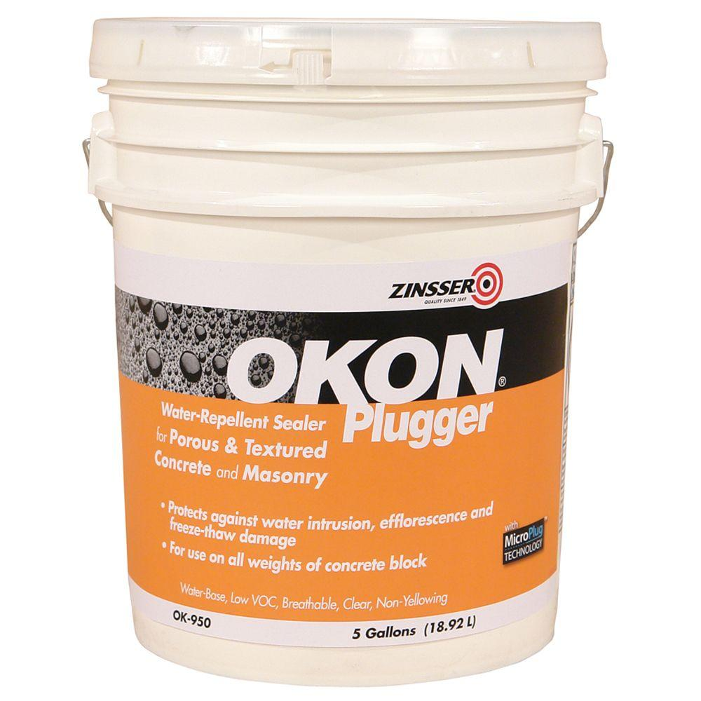 OKON 5-gal. Plugger Heavy Duty Water Repellent Sealer/Very Porous-DISCONTINUED