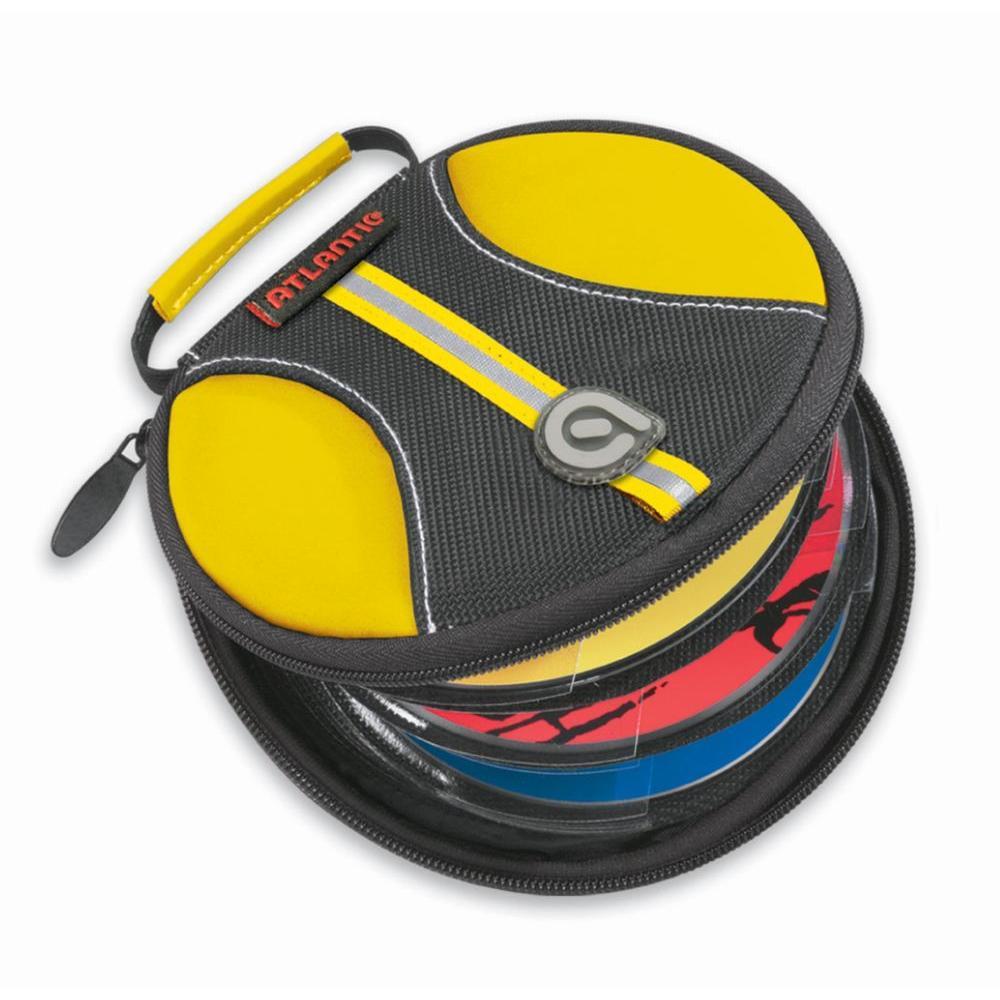 Atlantic 24 CD or DVD Halogen Yellow Disc Wallet-DISCONTINUED