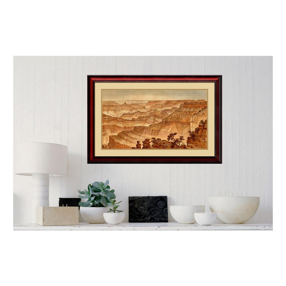 Amanti Art 35 in. W x 23 in. H \'Grand Canyon-Panorama from Point ...