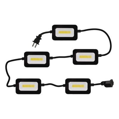 50 ft. 5-Head 5000 Lumens String Light