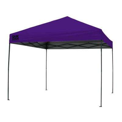 Expedition 100 Team Colors 10 ft. x 10 ft. Purple Instant Canopy  sc 1 st  Home Depot & Purple - Pop-Up Tents - Tailgating - The Home Depot