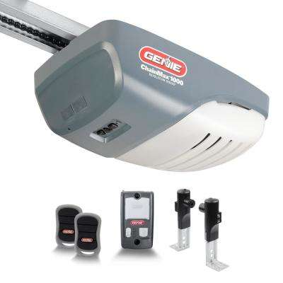 3 4 Hp Chain Drive Garage Door Openers Doors Windows The Home Depot