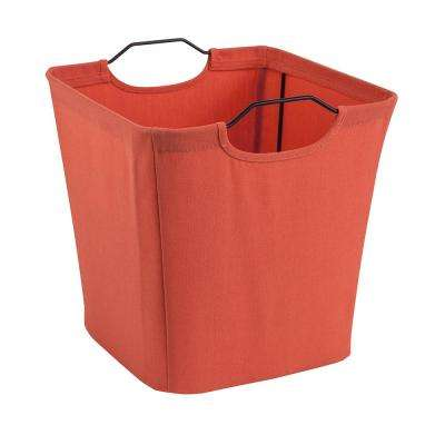 10.5 in. W x 11 in. H x 10.5 in. D Coral Wire Framed Fabric Drawer