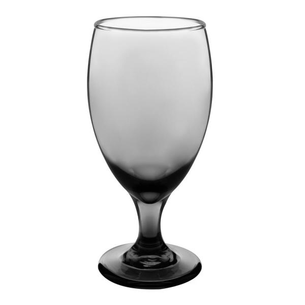 16.25 oz Classic Smoke Glass Goblet Set (6-Pack)