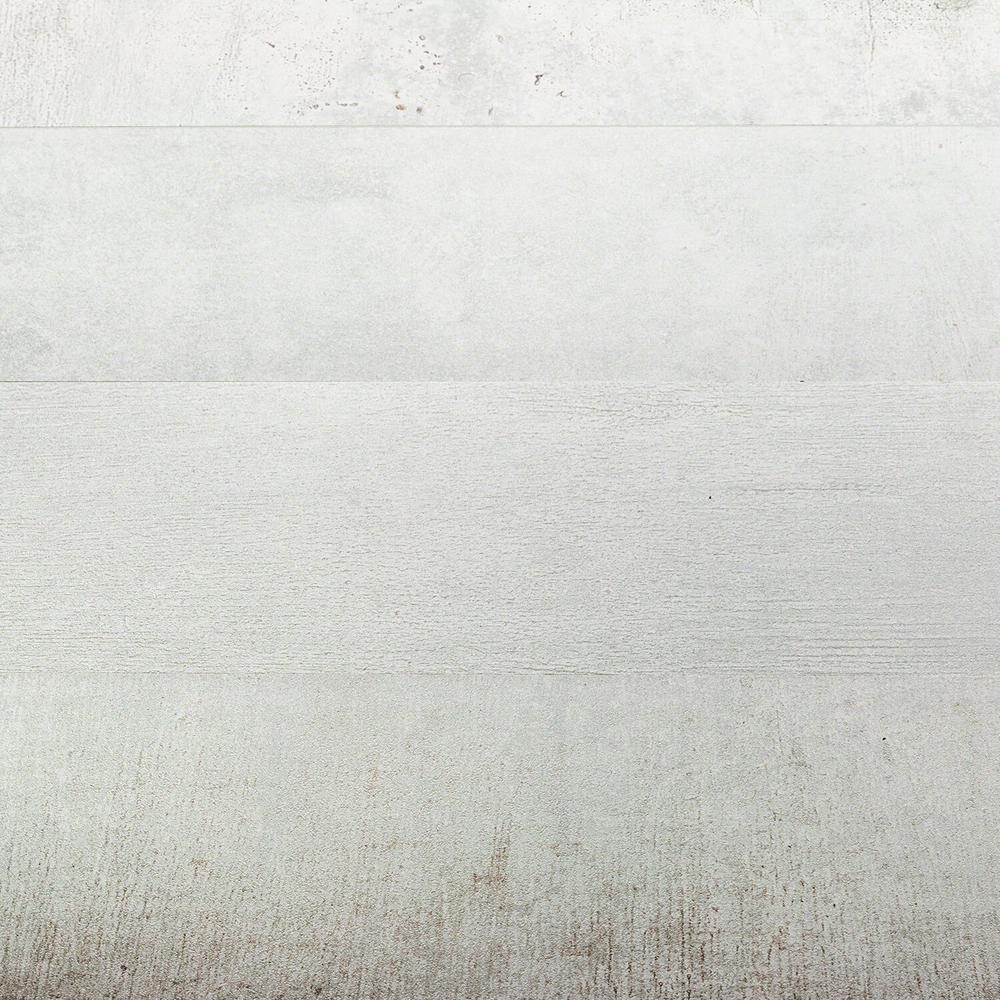 Casper White 8 in. x 48 in. x 9.5mm Matte Porcelain Tile (3 pieces / 7.63 sq. ft. / box)