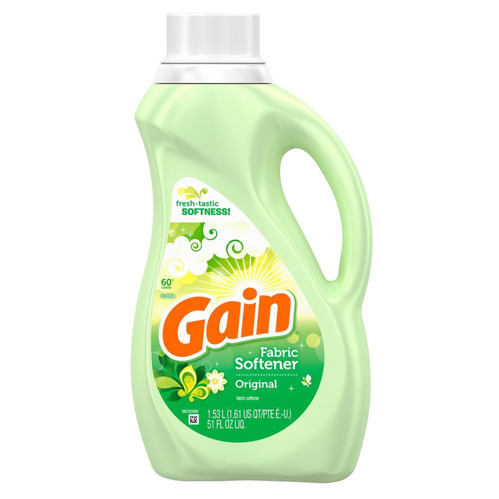 gain liquid fabric softener