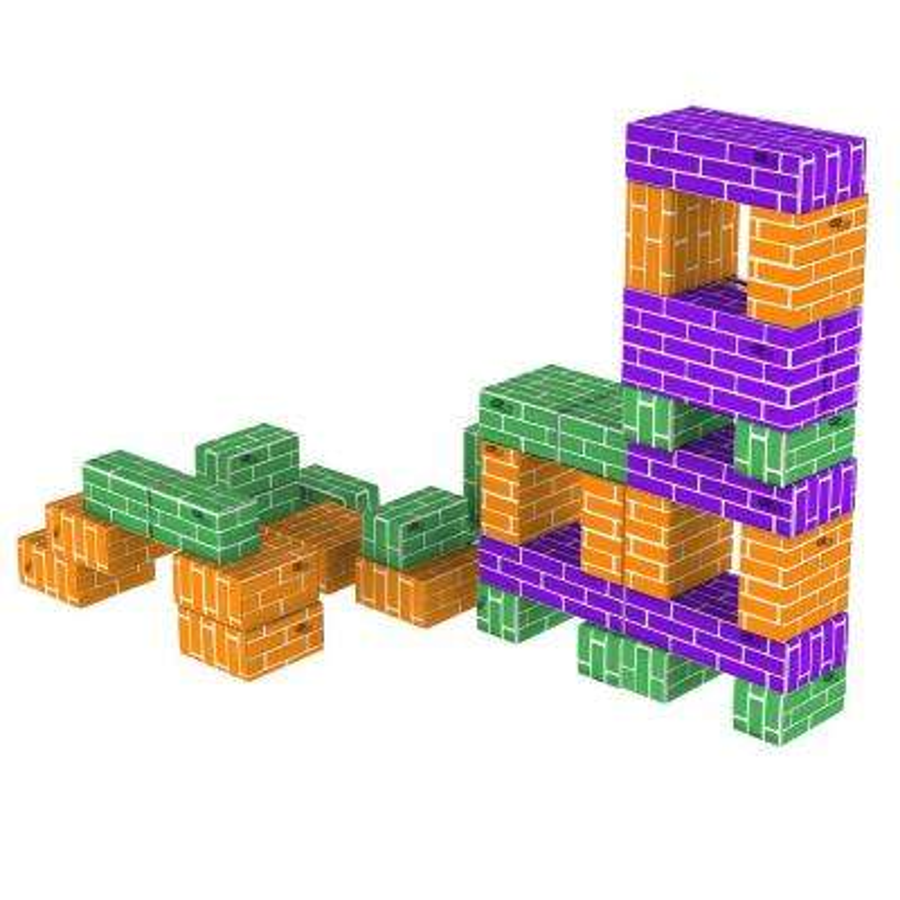Corrugated Cardboard Building Block Set