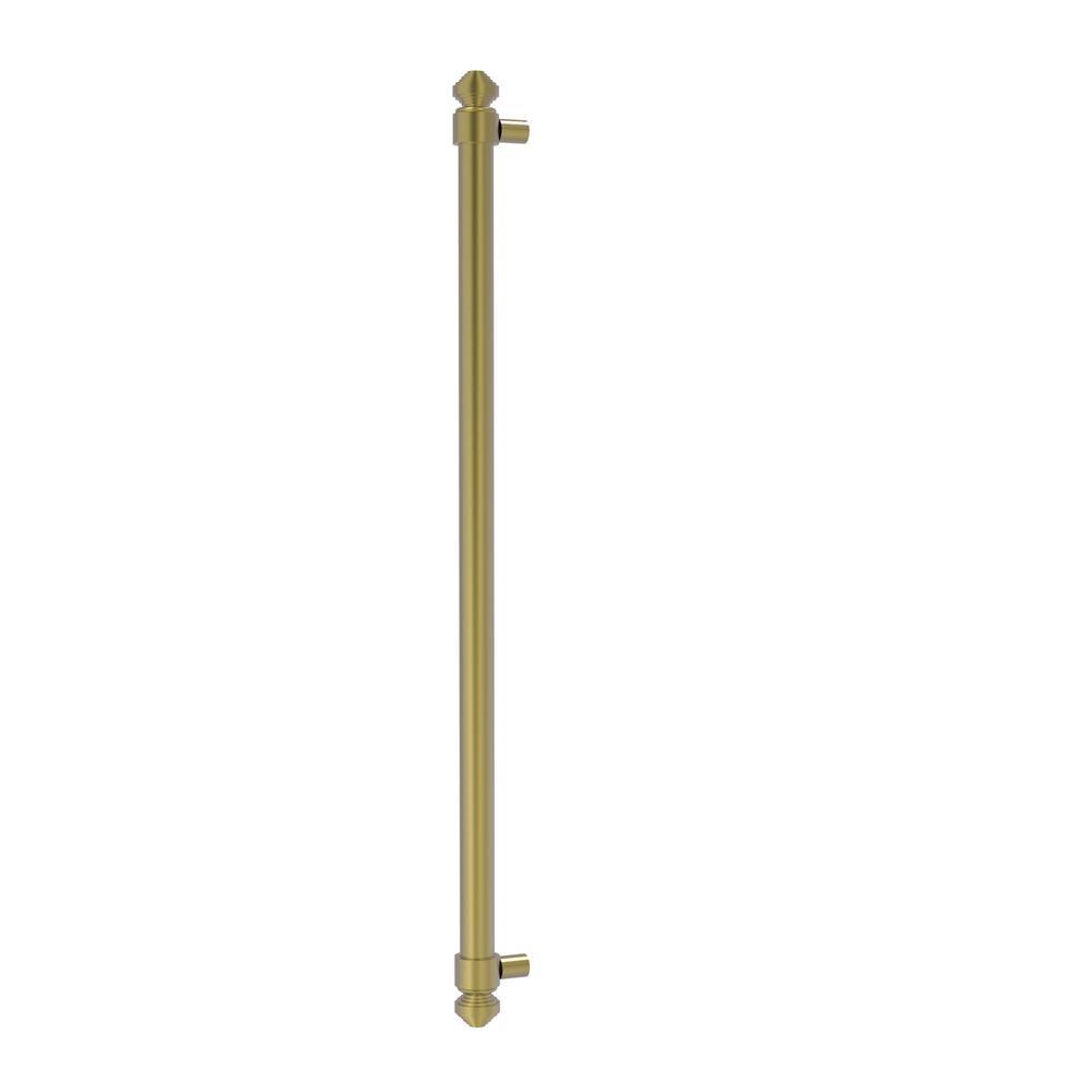 Allied Brass 18 in. Center-to-Center Refrigerator Pull in Satin Brass